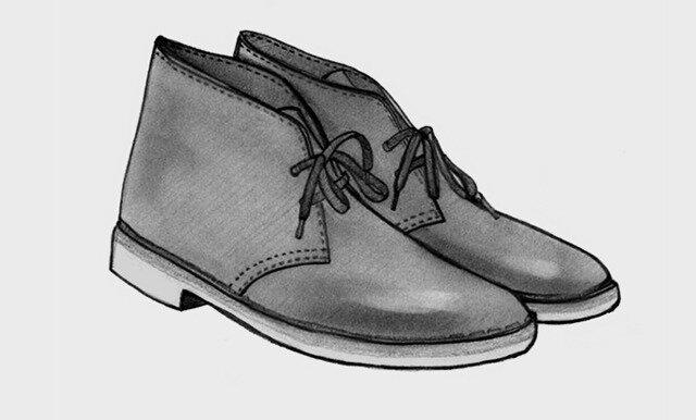 375614e1f Desert — «пустыня») — ботинки на кожаной или каучуковой подошве с замшевым  верхом с двумя или тремя парами отверстий для шнурков. Являются копией  ботинок ...