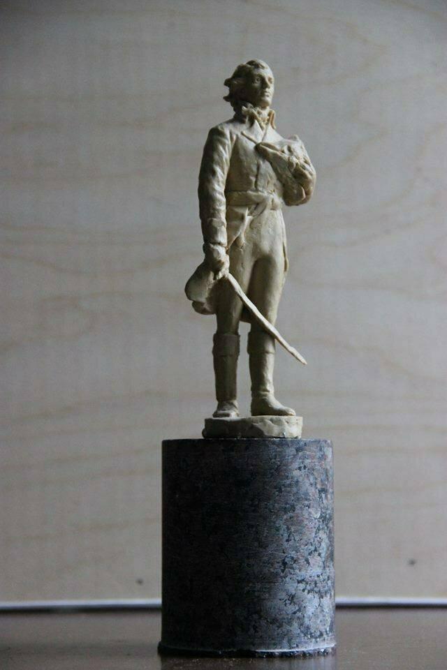 Белорусы толокой собрали средства на памятник Тадеушу Костюшко в Меречёвщине