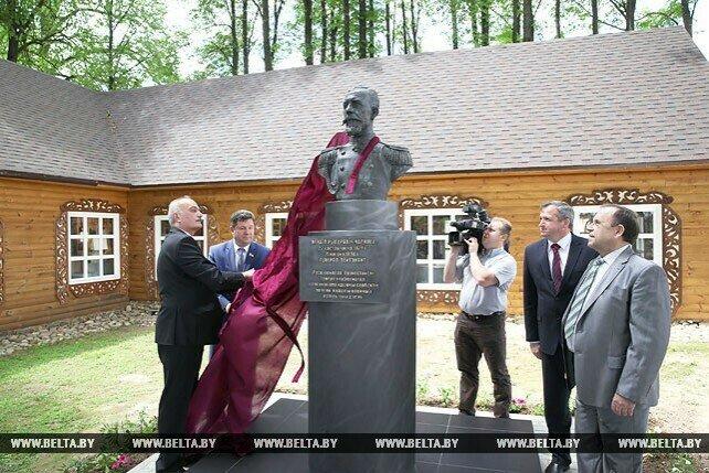 В Могилевской области открыли памятник российскому генералу-славянофилу