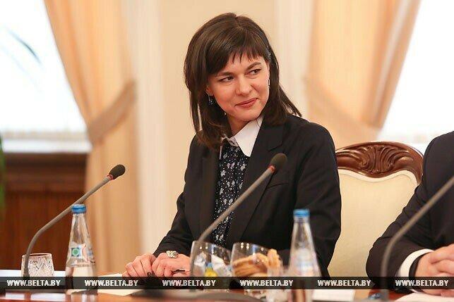 Ірына Акуловіч. Фота БелТА.