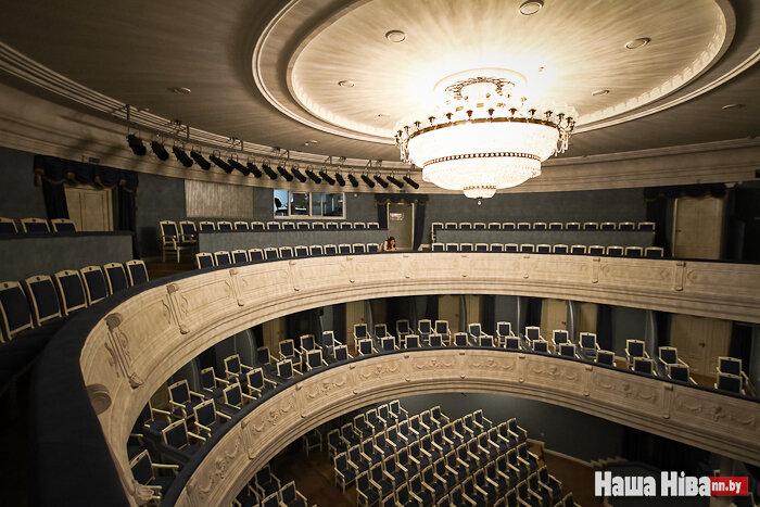 Купаловский театр схем