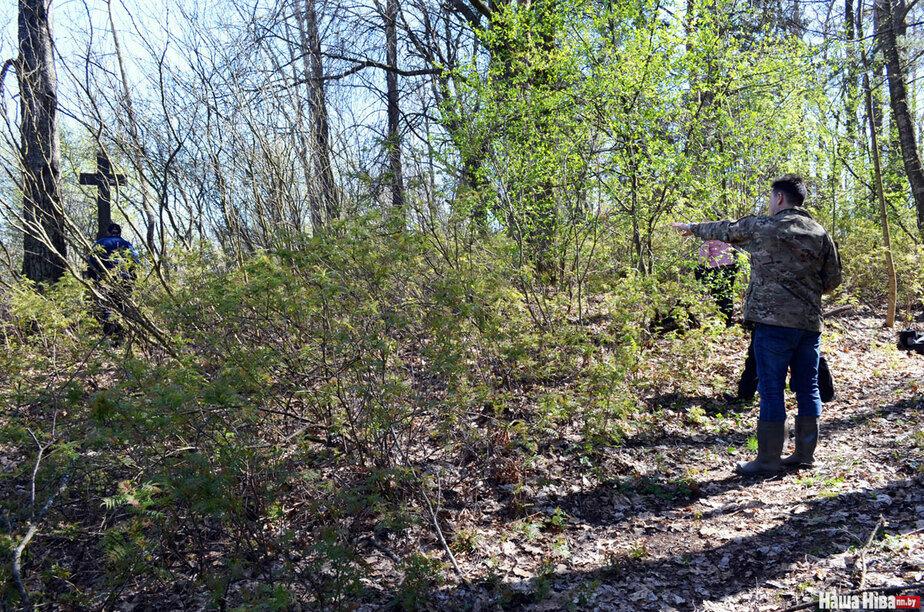Где искать в лесу могилку в фотографе