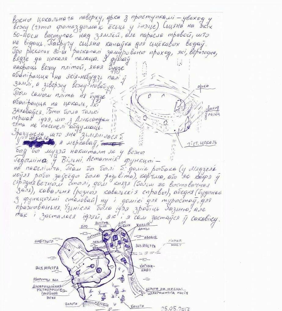 Оставаясь под стражей патриот Иван Ковальчук продолжает работать   чтения книг и изучения польского языка он много времени проводит за написанием своей дипломной работы по восстановлению и реконструкции Мядельского