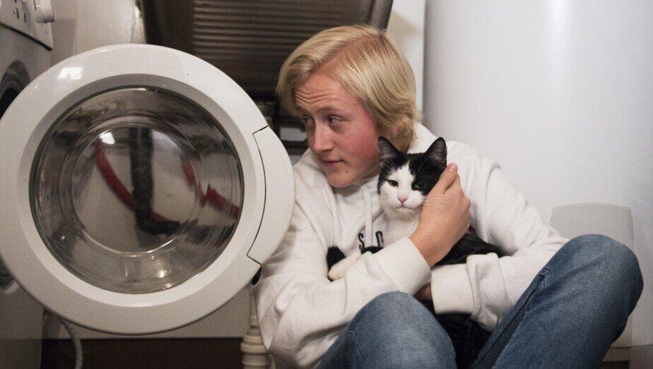 Секс на работающей стиральной машине — img 10