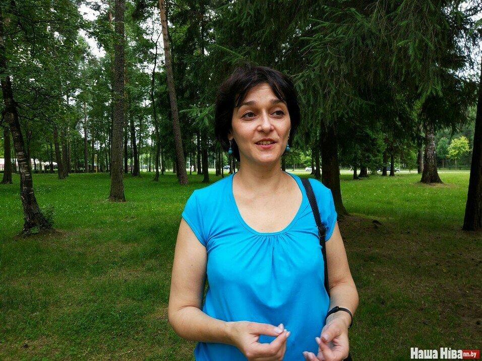 Ольга Дамаскина метит на пост председателя БНФ