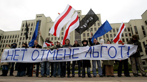 Opposition rally Social march. Photo by Julia Darashkevich