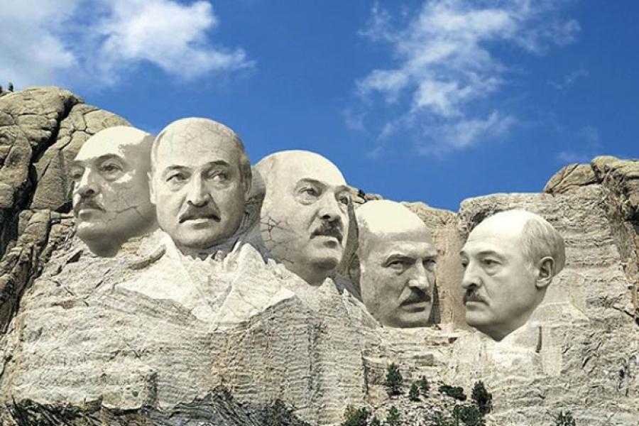 Владимир Цеслер показал белорусскую версию американской Скалы президен