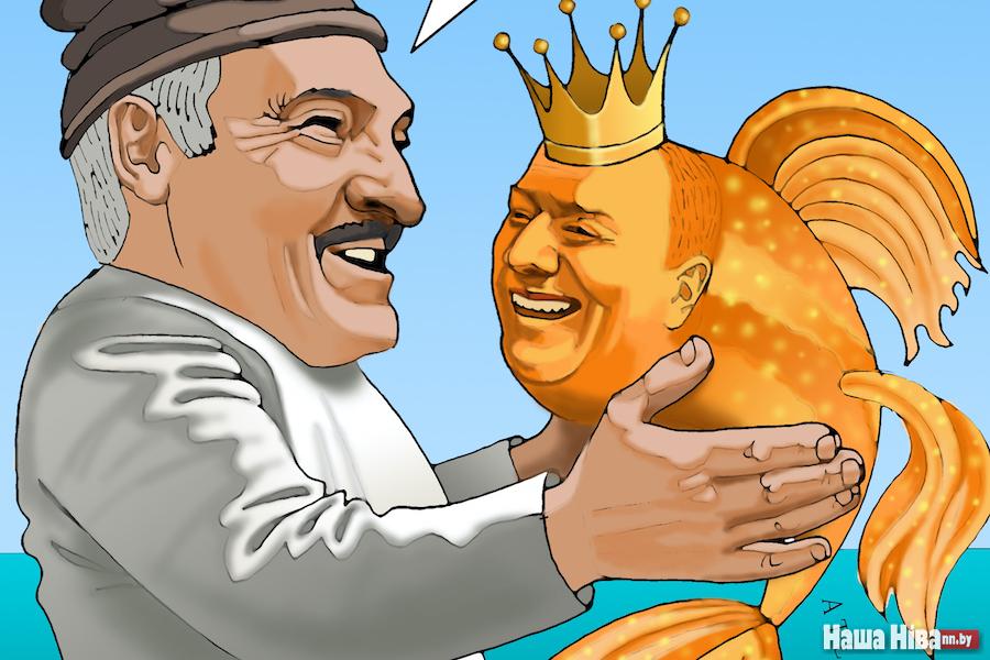 Ощущение, что коронавирус боится батьку Лукашенко, как чёрт ладана…