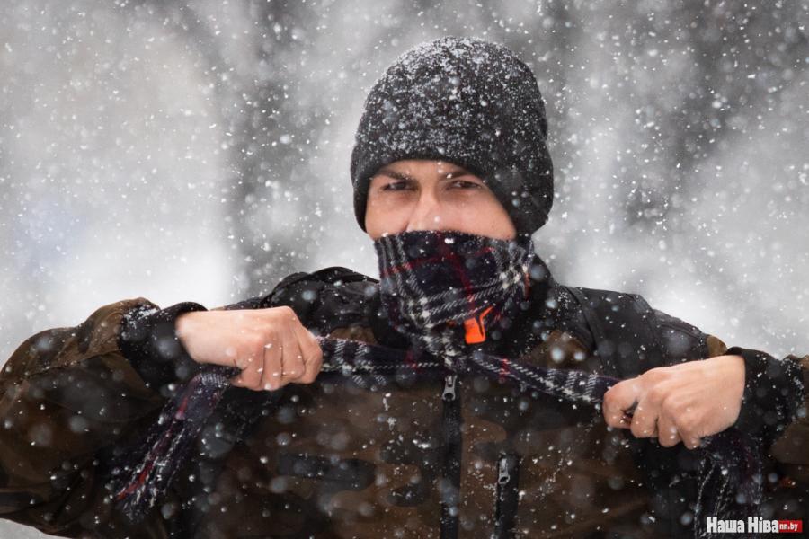 Сіноптыкі: 2 красавіка - холад і мокры снег