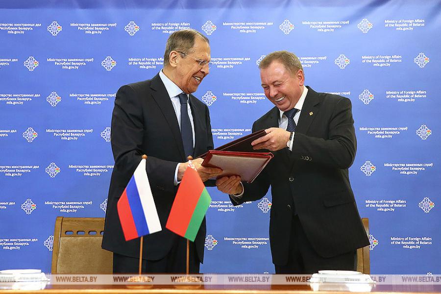 Россия и Белоруссия договорились о взаимном признании виз