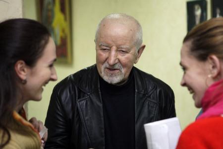 Ryhor Baradulin / Фота Юліі Дарашкевіч