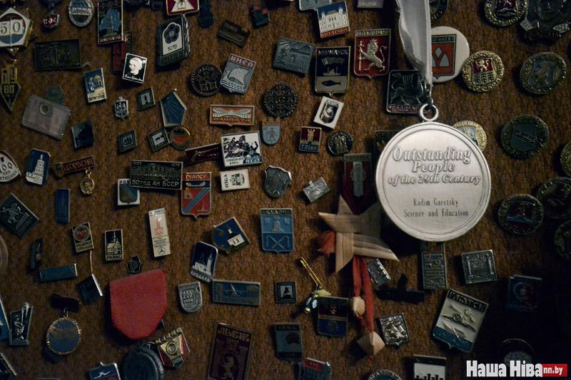 Медаль «Выдатны чалавек 20 стагоддзя Радзім Гарэцкі, навука і адукацыя».