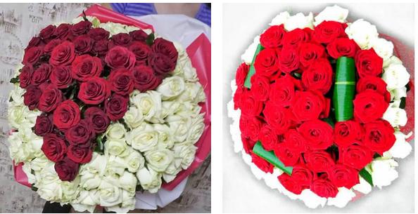 babf397a Букет из 101 розы: масса эмоций, как заказать